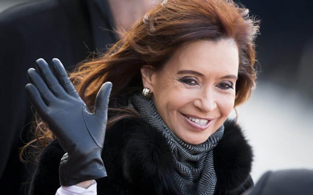 כריסטינה קירשנר (צילום: AP Photo/Alexander Zemlianichenko, File)