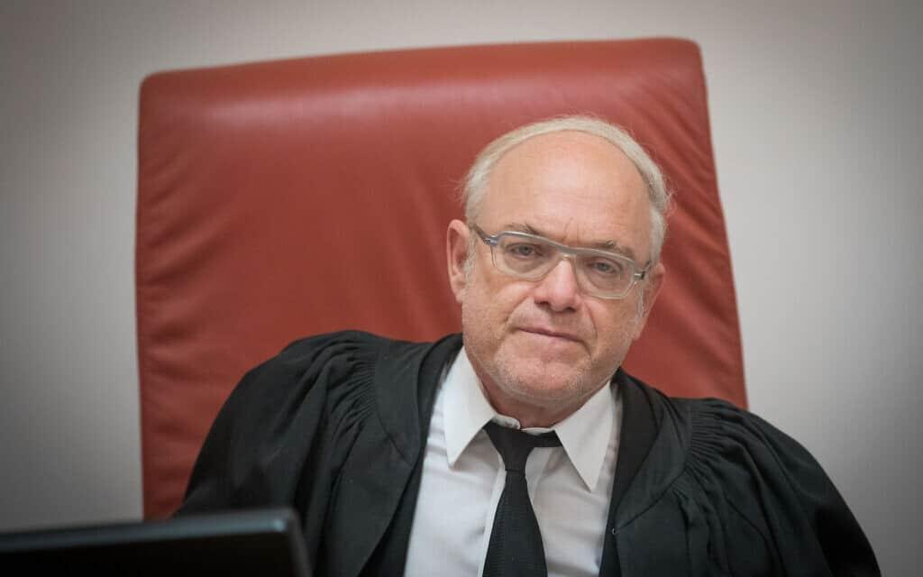 שופט בית המשפט העליון ניל הנדל (צילום: Yonatan-Sindel-Flash90)