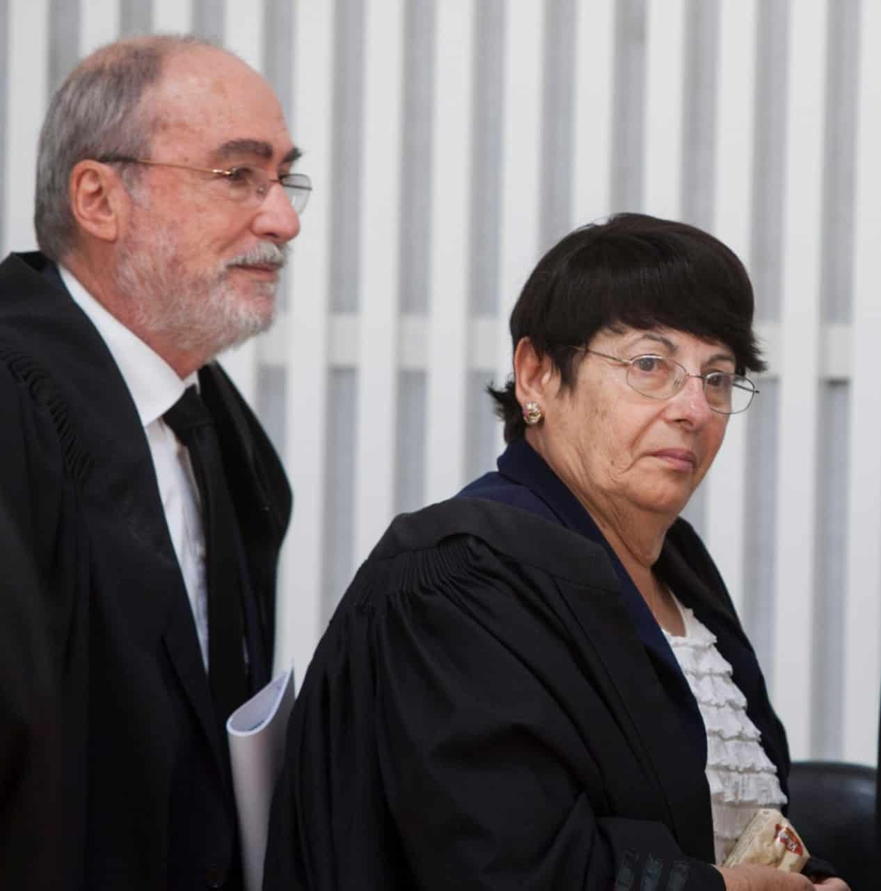 שופטי בית המשפט העליון מרים נאור ואשר גרוניס