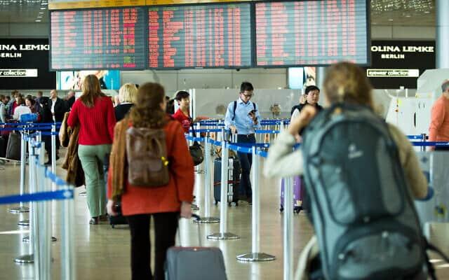 נמל התעופה בן גוריון (צילום: Moshe Shai/FLASH90)