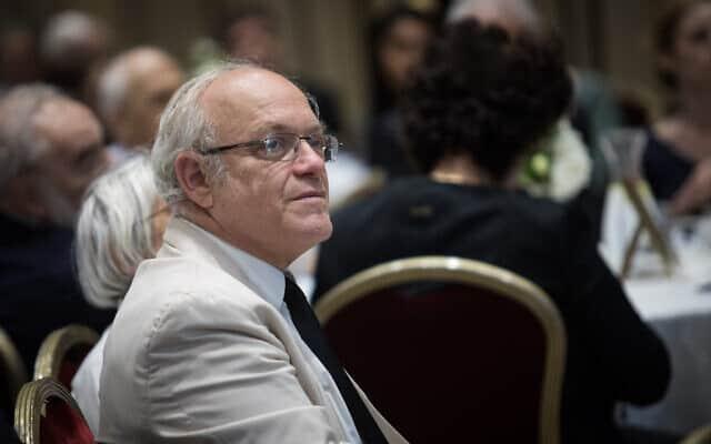 יו״ר ועדת הבחירות ניל הנדל (צילום: Hadas Parush/Flash90)