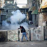 חברון, 5 בפברואר 2020 (צילום: Wisam Hashlamoun/FLASH90)