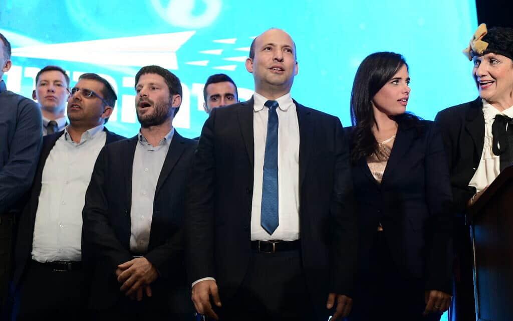 מפלגת ימינה (צילום: תומר נויברג/פלאש90)