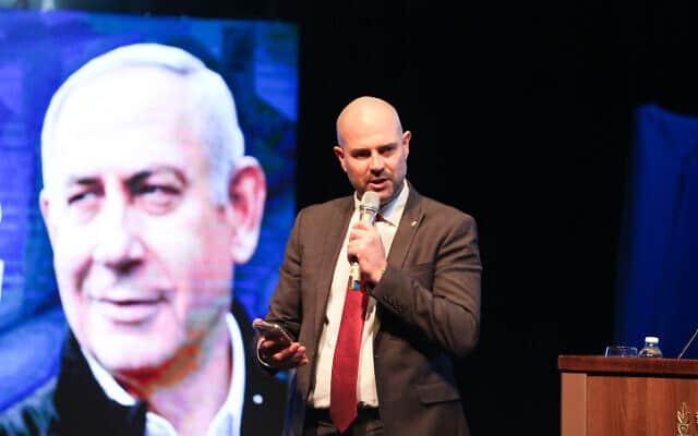 אמיר אוחנה (צילום: דוד כהן, פלאש 90)