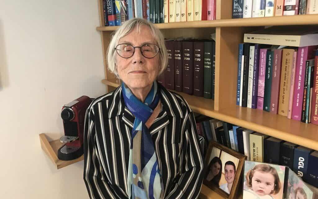 השופטת דליה דורנר, פברואר 2020 (צילום: אמיר בן-דוד)