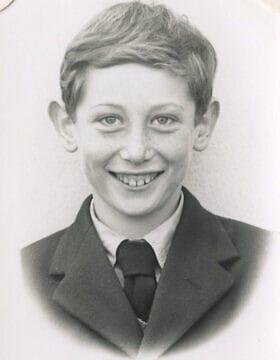 מייקל רוזן בגיל 10 (צילום: (צילום באדיבות מייקל רוזן))