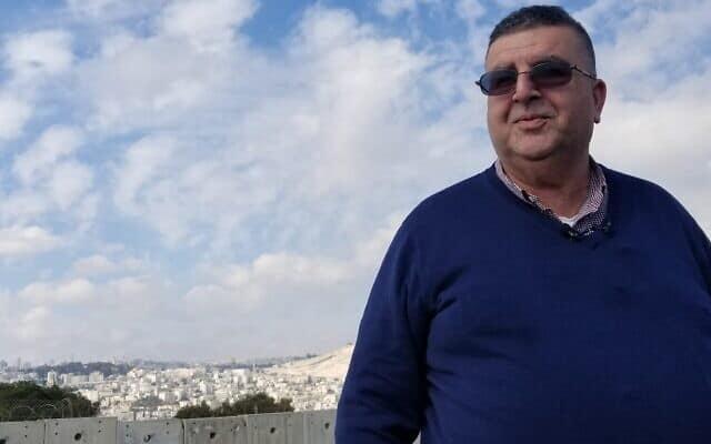 ראש עיריית אבו דיס אחמד אבו הילאל (צילום: אדם רזגון)