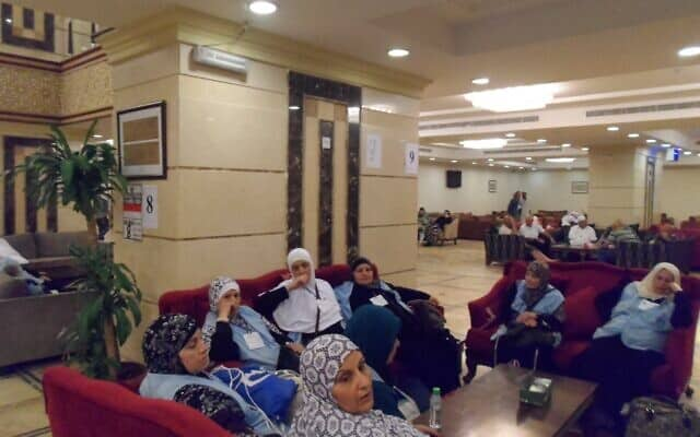 ערבים ישראלים במכה (צילום: באדיבות אלעוליא)