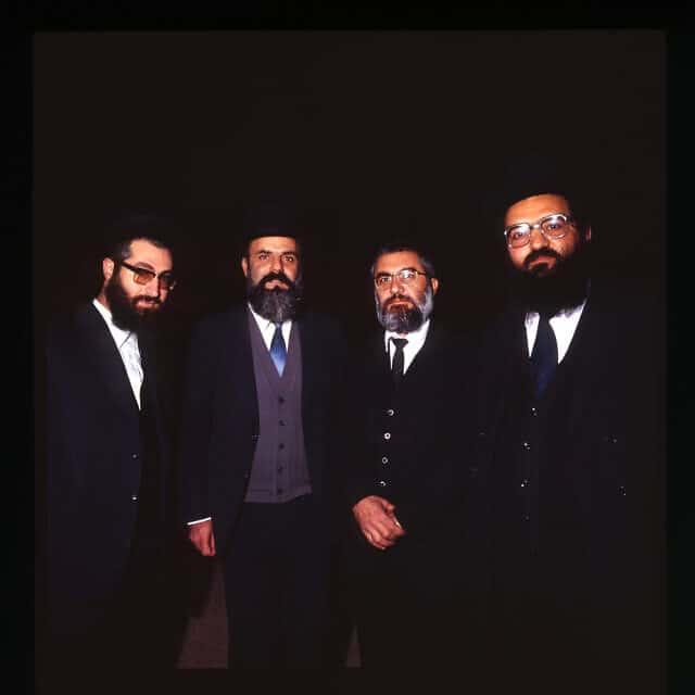 """חברי ש""""ס, 1984 (צילום: איל יצהר)"""