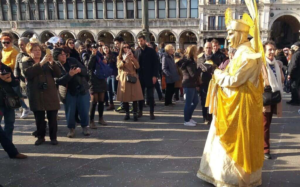 הקרנבל בוונציה (צילום: כרמלה כהן שלומי)