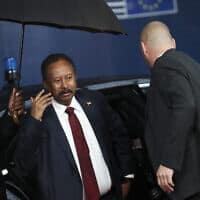 עבדאללה חמדוק, ראש ממשלת סודאן (צילום: AP)