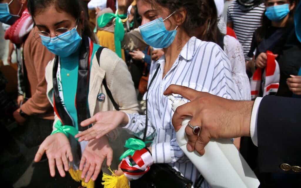 משבר הקורונה בעיראק: מרץ 2020 (צילום: AP Photo/Khalid Mohammed)