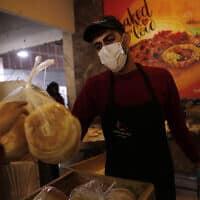 משבר הקורונה בעזה, מרץ 2020 (צילום: AP Photo/Adel Hana)