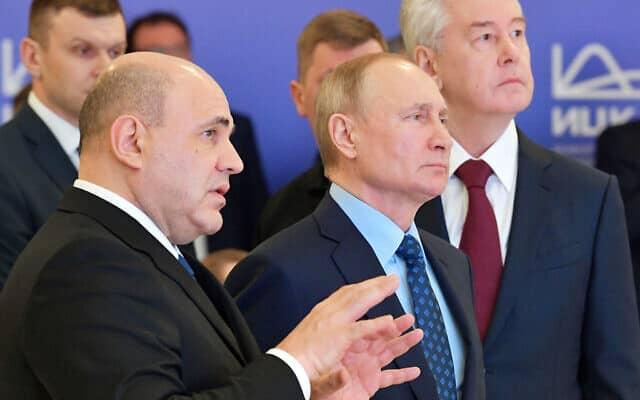 Russia Putin Virus Outbreak