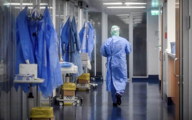בית חולים באיטליה, מרץ 2020 (צילום: Claudio Furlan/LaPresse via AP)