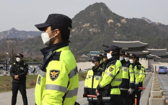 משבר הקורונה בקוריאה הדרומית (צילום: AP Photo/Ahn Young-joon)