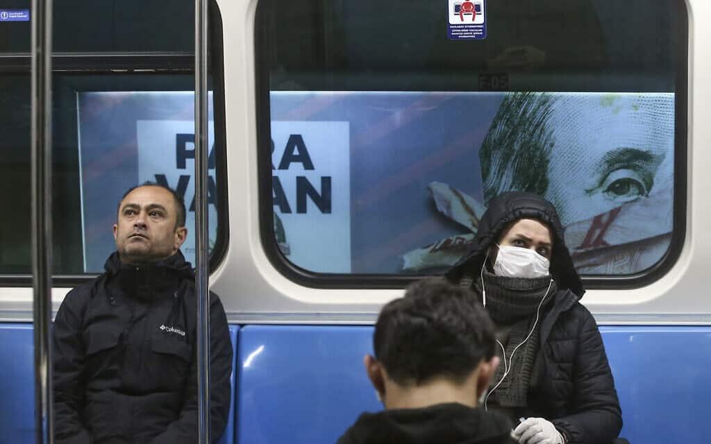 משבר הקורונה: קרון רכבת בטורקיה (צילום: AP Photo/Emrah Gurel)