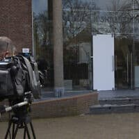 מוזיאון סינגר לארן שבהולנד, שממנו נגמב ציור של ואן גוך, 30 במרץ 2020 (צילום: Peter Dejong, AP)
