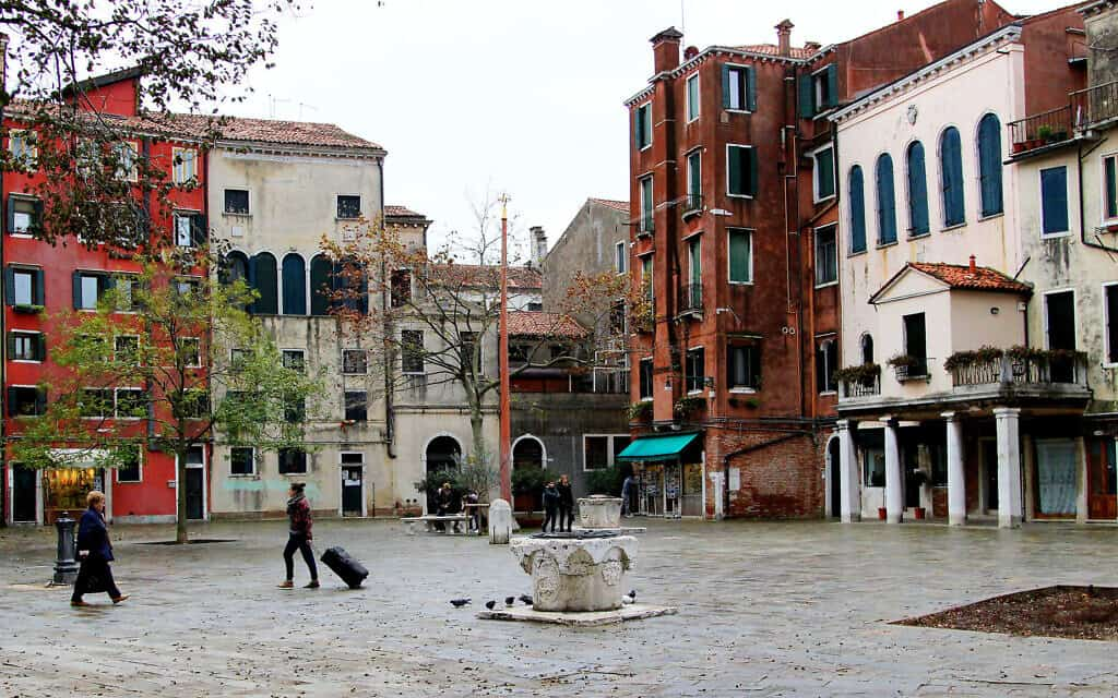 הגטו היהודי בוונציה, ארכיון (צילום: AP Photo/Michelle Locke)