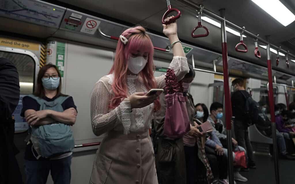 התפרצות הקורונה בהונג קונג (צילום: AP-Photo-Kin-Cheung)