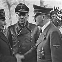 מרשל פטן ואדולף היטלר, 1940 (צילום: Bundesarchiv Bild_183-H25217)