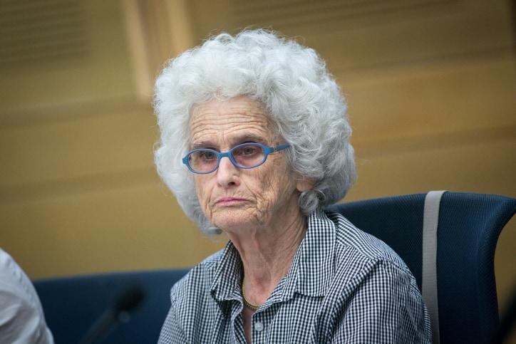 רות גביזון (צילום: מרים אלסטר, פלאש 90)