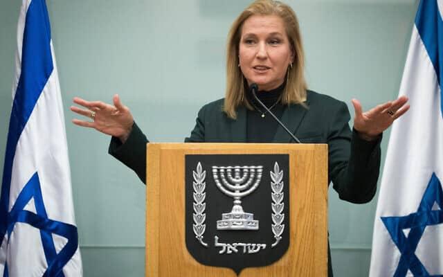 שרת המשפטים לשעבר ציפי לבני, ארכיון (צילום: Yonatan Sindel/Flash90)