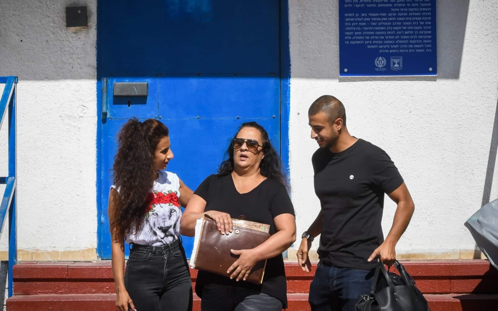 סימונה מורי משתחררת ממאסר (צילום: Avshalom Shoshoni/Flash90)