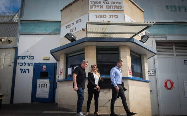 נוחי דנקנר משתחרר מהכלא. פברואר 2020 (צילום: Avshalom Sassoni/Flash90)