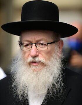 יעקב ליצמן (צילום: תומר נויברג/פלאש90)