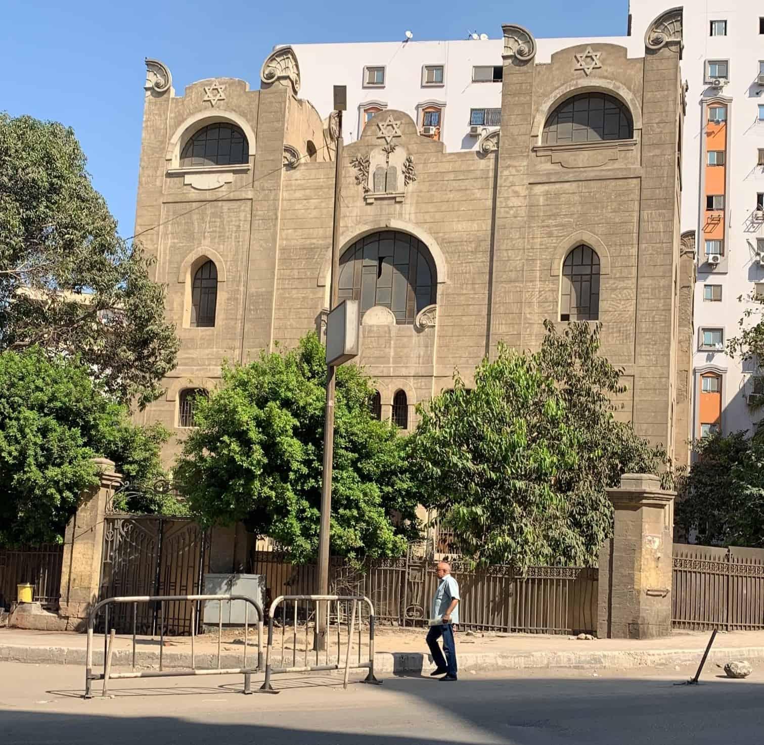 בית הכנסת על שם משה (מוסא) דרעי, קהיר, 2019 (צילום: יורם מיטל)