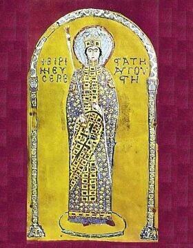 איקונה מתקופת אירנה האתונאית