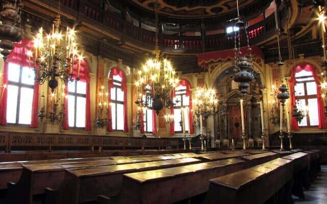 בית הכנסת הספרדי בוונציה (צילום: Courtesy)