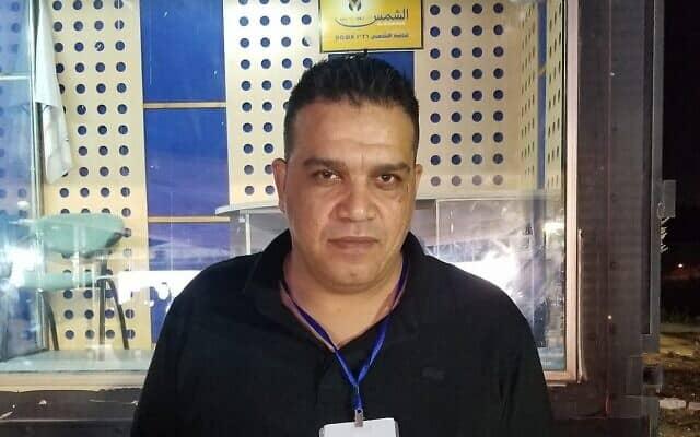 עאיד כיאל, מנהל הקמפיין של הרשימה המשותפת (צילום: אדם רזגון)