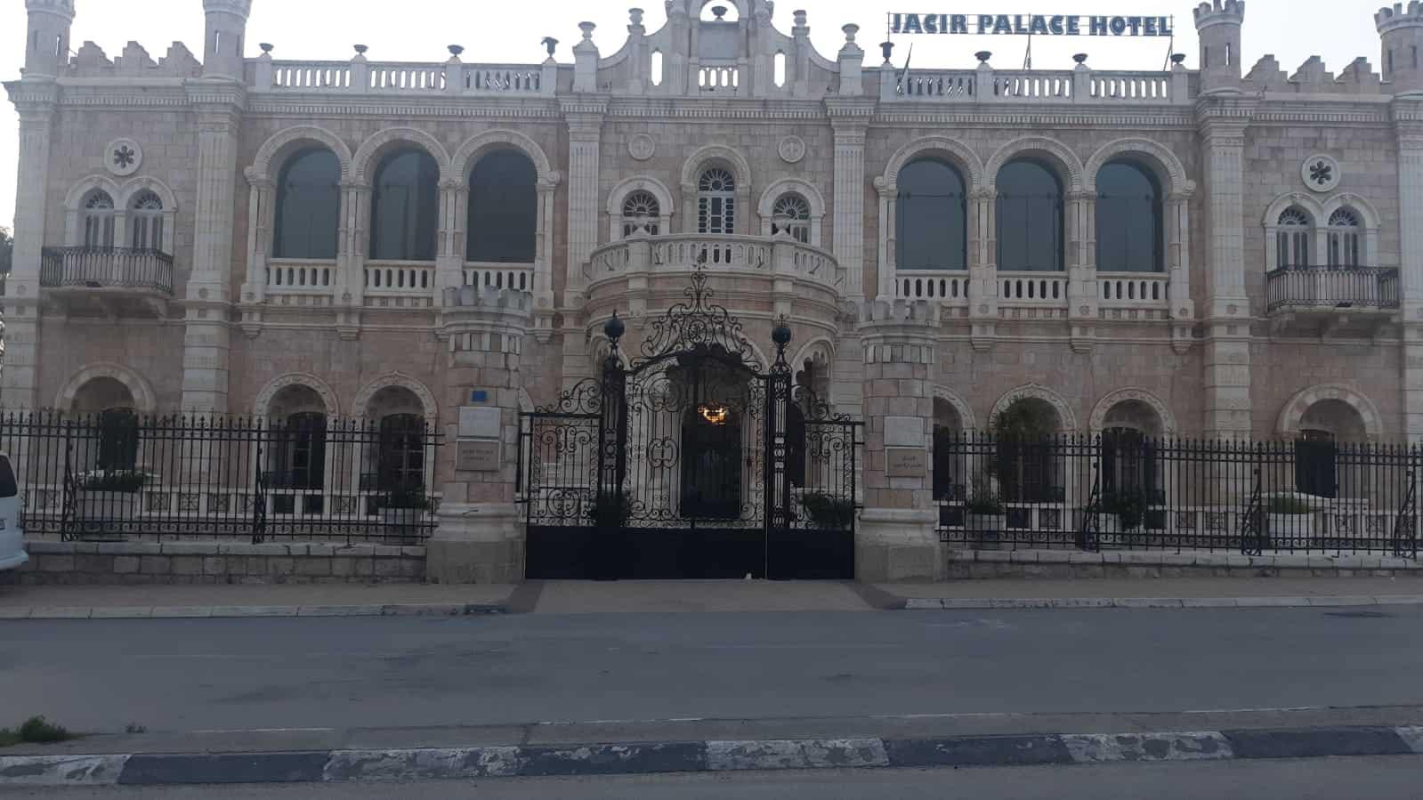 בית מלון סגור בבית לחם. מרץ 2020 (צילום: באדיבות: אליאס אלערג'א)