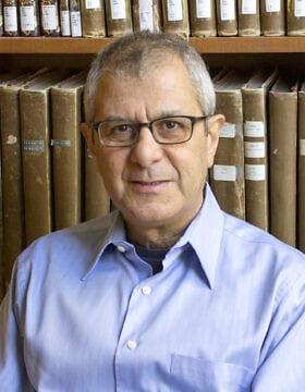 פרופסור להיסטוריה יורם מיטל מאוניברסיטת בן-גוריון (צילום: אתי לסמן)