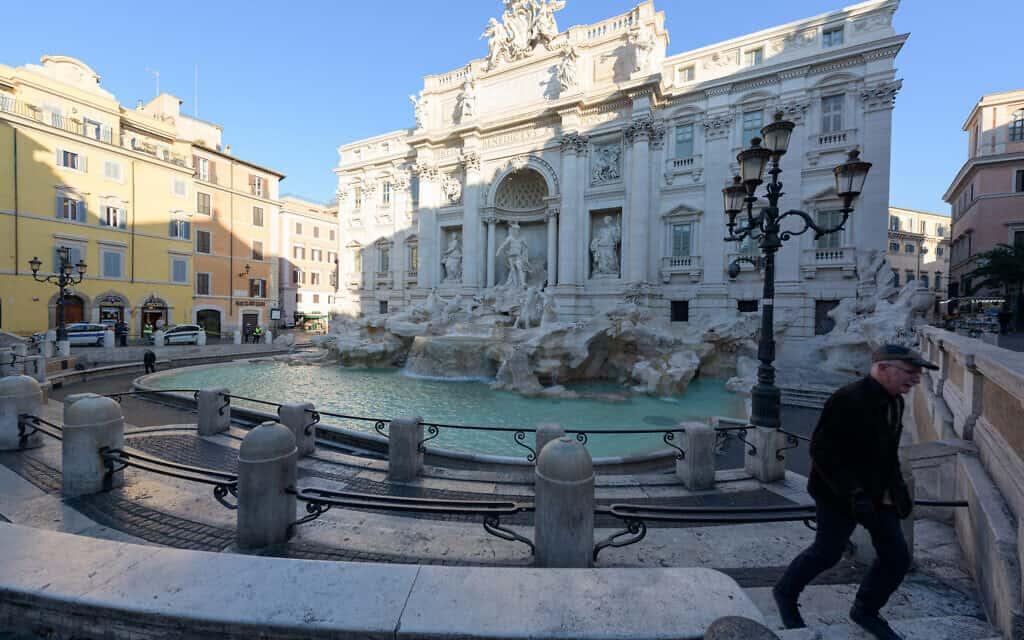 משבר הקורונה: רומא ריקה, מרץ 2020 (צילום: Em Campos/istockphoto)