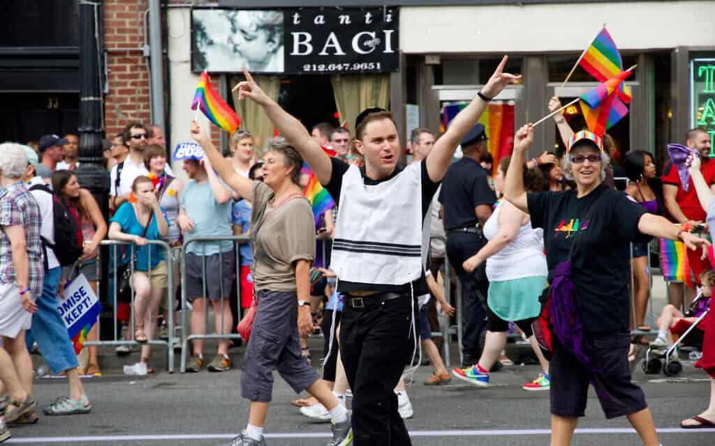 אילוסטרציה, מצעד הגאווה בניו יורק, 2011, למצולמים אין קשר לנאמר (צילום: dbeato istockphoto)