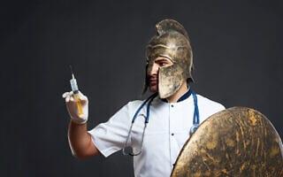קורונה בימי הביניים. אילוסטרציה (צילום: SerhiiBobyk/iStock)