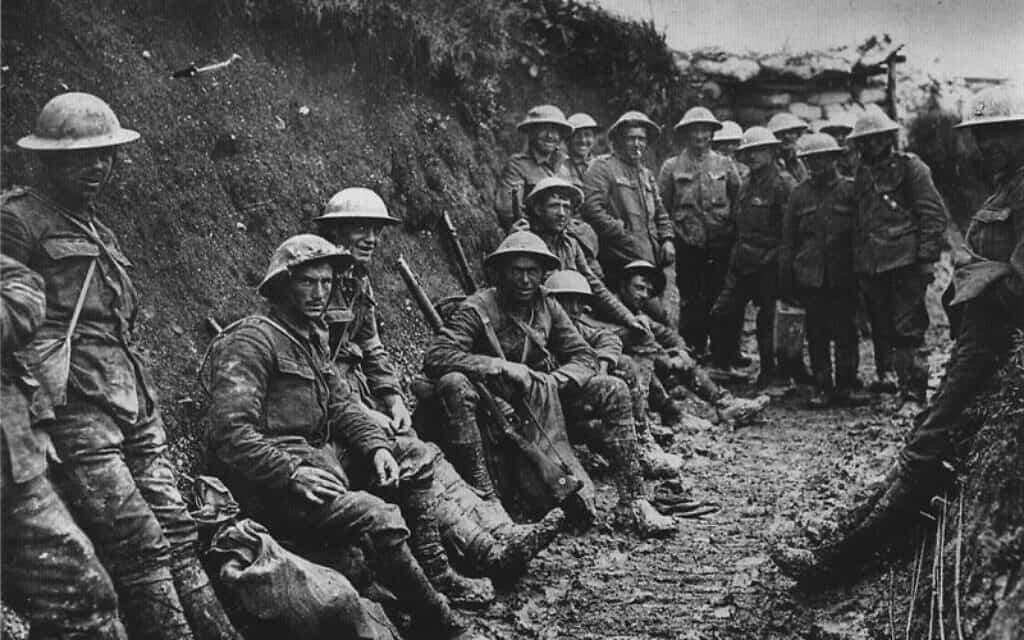 מלחמת החפירות, צילום מארכיון מלחמת העולם הראשונה