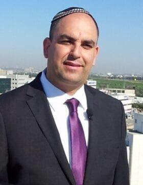 ראש עיריית לוד יאיר רביבו (צילום: עיריית לוד)