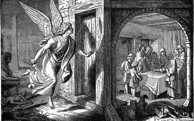 פסח מצרים הראשון, מלאך המוות פוסח על הבית, ויקישיתוף