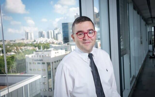 יועץ התקשורת חיים גריידינגר. גויס לסייע למשרד הבריאות בהסברה למגזר החרדי (צילום: גריידינגר ייעוץ אסטרטגי)