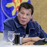 נשיא הפיליפינים, רודריגו דוטרטה (צילום: Richard Madelo/ Malacanang Presidential Photographers Division via AP)