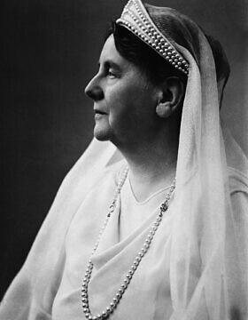 המלכה וילהלמינה, 1937 (צילום: AP)