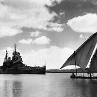 תעלת סואץ, 1944 (צילום: AP)