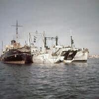 תעלת סואץ, 1956 (צילום: AP)