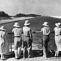 תעלת סואץ, 1935 (צילום: AP)