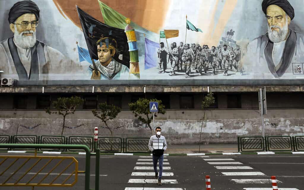 איראן בתקופת הקורונה (צילום: AP-Photo-Ebrahim-Noroozi)
