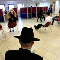 לשכת שירות התעסוקה בירושלים, ארכיון; למצולמים אין קשר לדיווח (צילום: יוסי זמיר, פלאש 90)